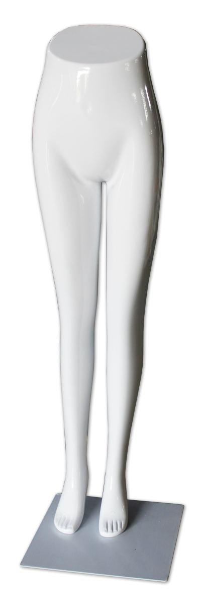 490007 - FEMALE LEG MODEL GLOSSY WHITE (HP02)