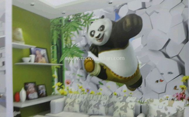 wallprinting 3D home image to give yourself a new fleshing day to your family's