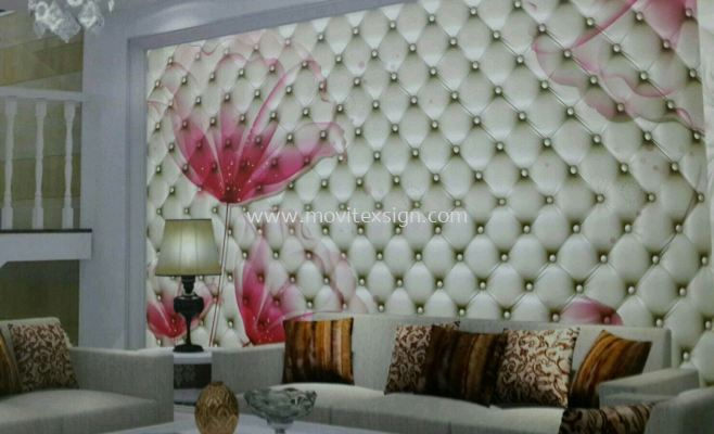wall Decor printing jb, flooring 3D image to give yourself a new fleshing day to your home n your family's (click for more detail)