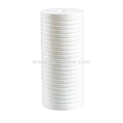 """(PPP10-5M-BB) 10"""" PP Grove Filter-Big"""