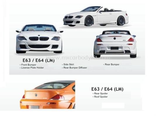 BMW E63 / E64 LUMMA STYLE BODYKIT