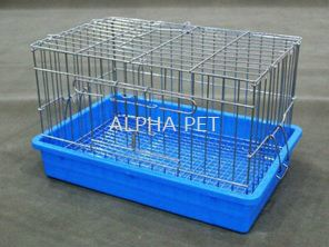 PET CAGE (CHROME)
