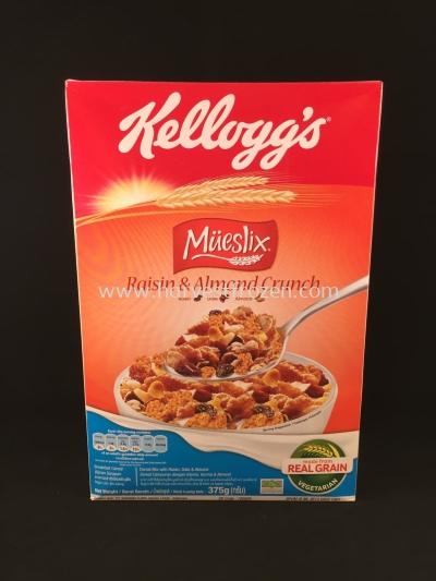 Kellogg's Mueslix Raisin and Almond 375g