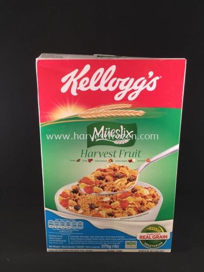 Kellogg's Mueslix Harvest Fruit 375g