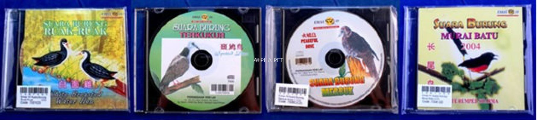 EMAS 10 BIRD SOUND CD
