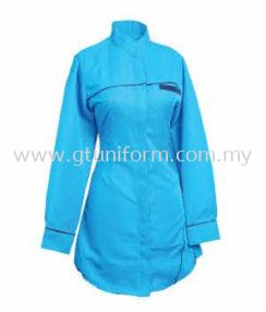 READY MADE UNIFORM MUSLIMAH H0109 (T.BLUE & N.BLUE)