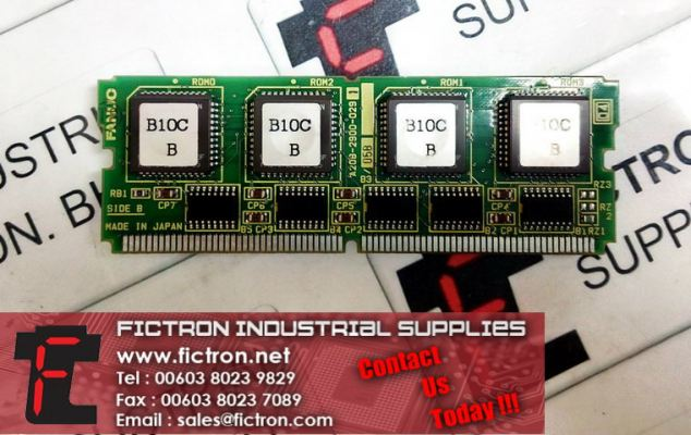 A20B-2900-0291 FANUC ROM Memory Module Supply Malaysia Singapore Thailand Indonesia Philippines Vietnam Europe & USA