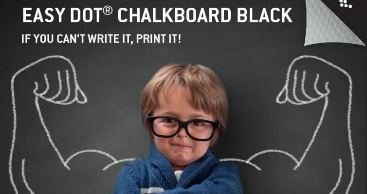 Neschen easy dot Chalkboard black