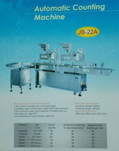 JB-22A Automatic Counting Machine