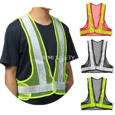 Safety Vest V-Shaped Netting