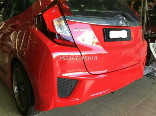 2016 honda jazz buper rs rear pp