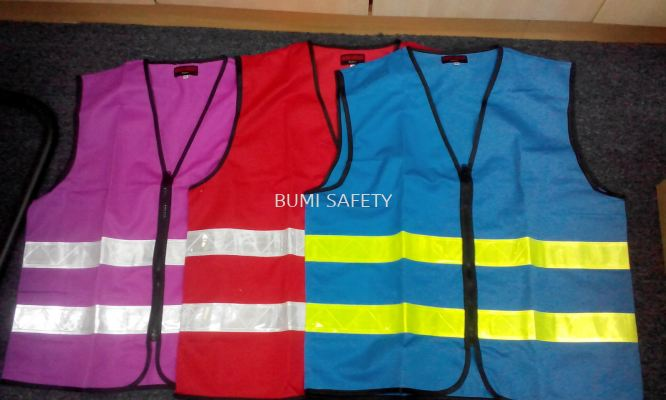 Safety vest c/w reflector