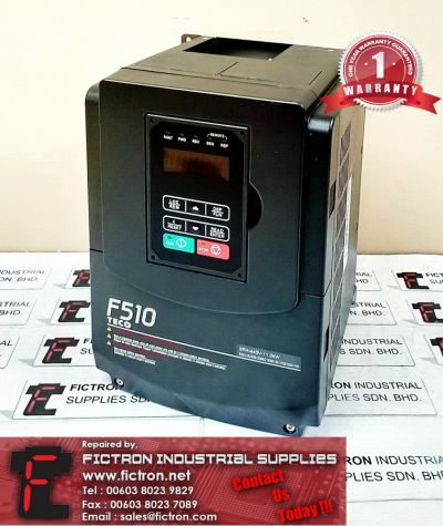 Repair Service in Malaysia - F510-4015-H3 11kW TECO Inverter Singapore Indonesia Thailand