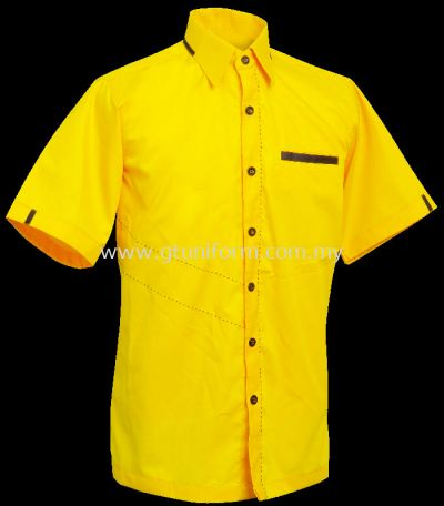 READY MADE UNIFORM M1103 (YELLOW & BLACK)