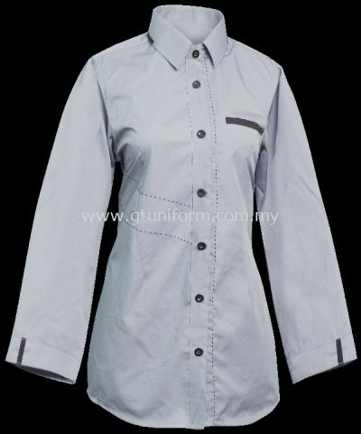 READY MADE UNIFORM F1115 (GREY & D.GREY)
