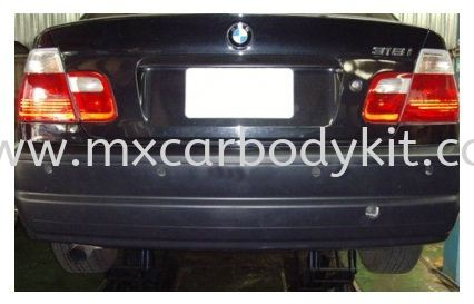BMW 3 SERIES E46 1998-2004 M3 STYLE REAR BUMPER 1 HOLE (PP) E46 (3 SERIES) BMW