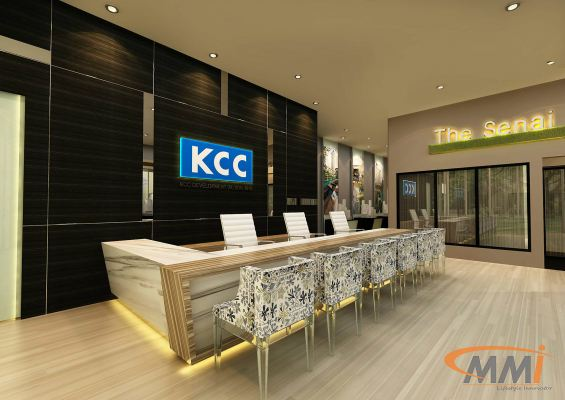 Receptionist Counter Design @ KCC