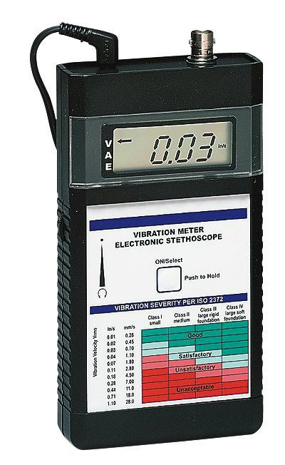 Monarch Instrument 6400-011 Vibration Meter w/Sensor Pack Vibration Measurement Cole-Parmer