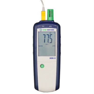 Digi-Sense Thermohygrometer with TSH/TEET, T/C Input, NIST Traceable Cal