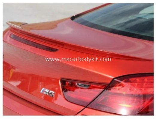 BMW 6 SERIES F12 2011 & ABOVE M STYLE TRUNK SPOILER