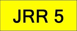 JRR5 VVIP Plate