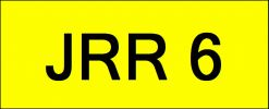 JRR6 VVIP Plate