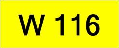 W116 Rare Classic Plate