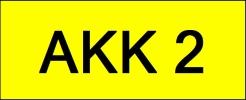 VIP Nice Number Plate (AKK2) All Plate