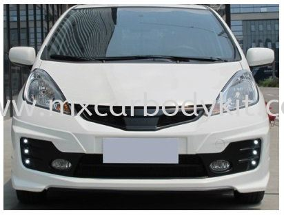 HONDA JAZZ FIT 2011 MUGEN RS STYLE FRONT BUMPER W/DRL JAZZ 2011 HONDA