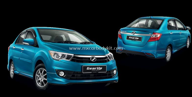 PERODUA BEZZA GEAR UP BODYKIT + SPOILER