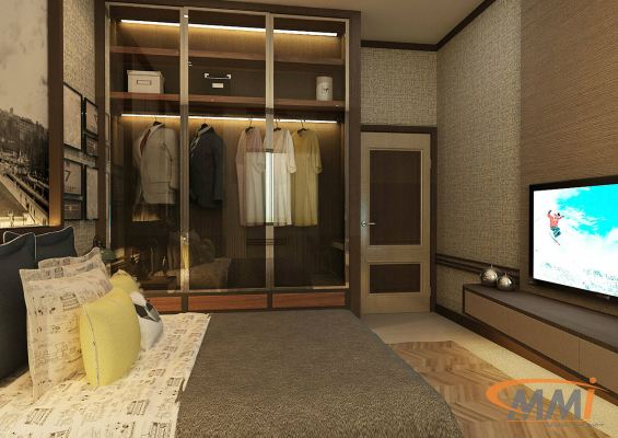 Wardrobe Design - Larkin Apartment