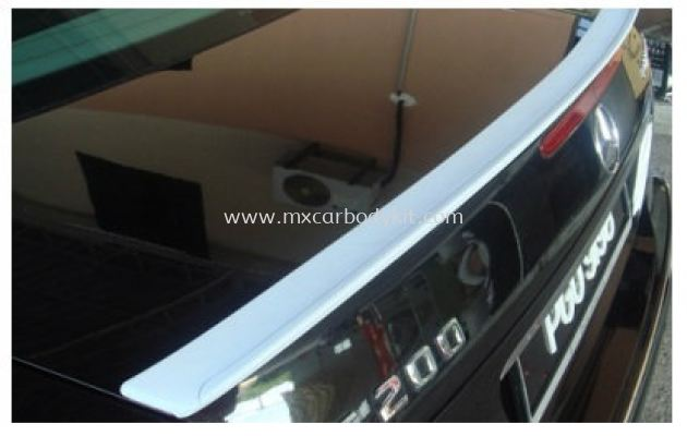 MERCEDES BENZ W221 2006 & ABOVE REAR TRUNK SPOILER