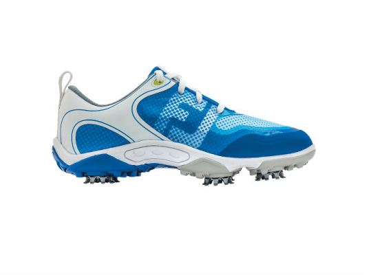 FJ Junior Freestyle Model 45022 White/Electric Blue