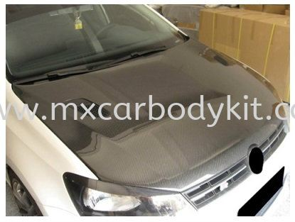 VOLKSWAGEN POLO 2011 & ABOVE ENGINE HOOD CARBON W/VENT POLO VOLKSWAGEN Johor, Malaysia, Johor Bahru (JB), Masai. Supplier, Suppliers, Supply, Supplies | MX Car Body Kit