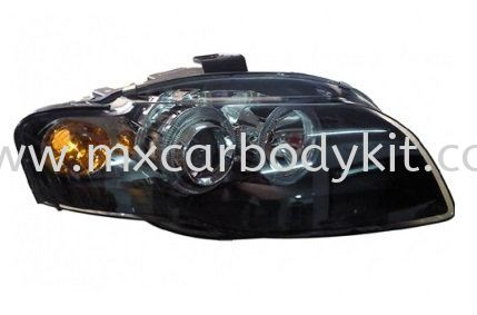 AUDI A4 (B7) 2005-2008 HEAD LAMP CRYSTAL PROJECTOR W/RIM HEAD LAMP ACCESSORIES AND AUTO PARTS