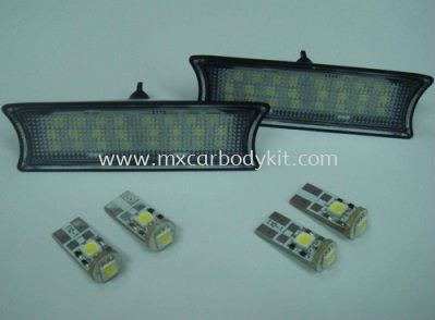 BMW E90 & E92 2005 & ABOVE LED ROOF LAMP