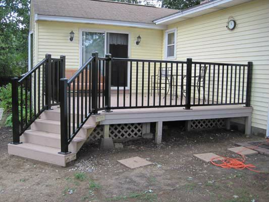 METAL RAILING AND SPIRAL STAIRCASE118