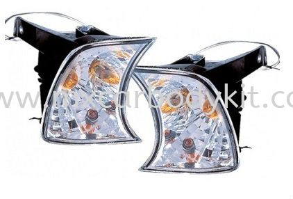 BMW E34 1998 & 1994 CONNER LAMP CRYSTAL CORNER LAMP ACCESSORIES AND AUTO PARTS