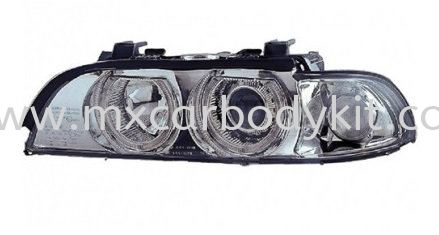BMW E93 1995 & 2002 HEAD LAMP CRYSTAL CHROME W/PROJECTOR + RIM + MOTOR HEAD LAMP ACCESSORIES AND AUTO PARTS