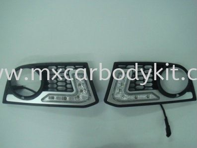 BMW F10 2010 & ABOVE M-TEK FRONT BUMPER DRL DAY LIGHT  ACCESSORIES AND AUTO PARTS