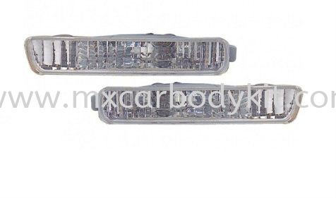 HONDA ACCORD 1994 FRONT BUMPER LAMP CRYSTAL REFLECTOR ACCESSORIES AND AUTO PARTS