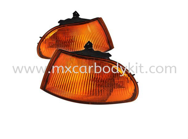 HONDA CIVIC 1992-1995 4D CORNER LAMP CRYSTAL AMBER CORNER LAMP ACCESSORIES AND AUTO PARTS