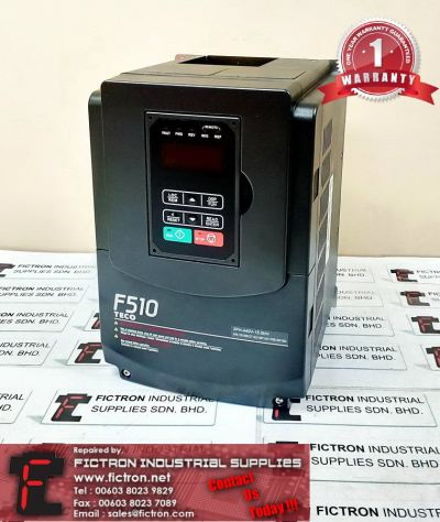 Repair Service in Malaysia - F510-4010-H3 7.5kW TECO Inverter Singapore Indonesia Thailand