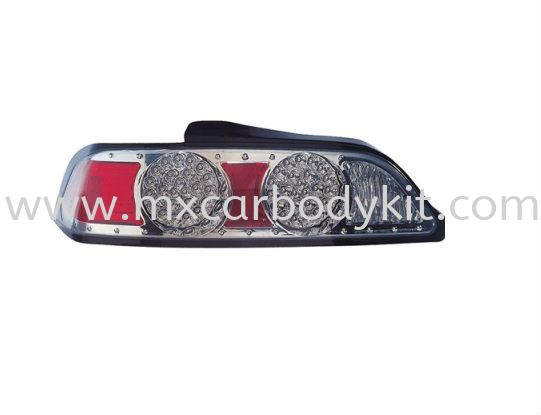 HONDA INTEGRA 2005 REAR LAMP CRYSTAL LED CHROME REAR LAMP ACCESSORIES AND AUTO PARTS