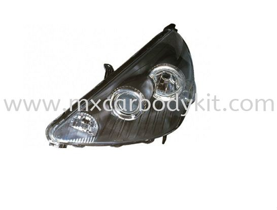 HONDA JAZZ FIT 2002-2007 HEAD LAMP CRYSTAL W/PROJECTOR REAR LAMP ACCESSORIES AND AUTO PARTS