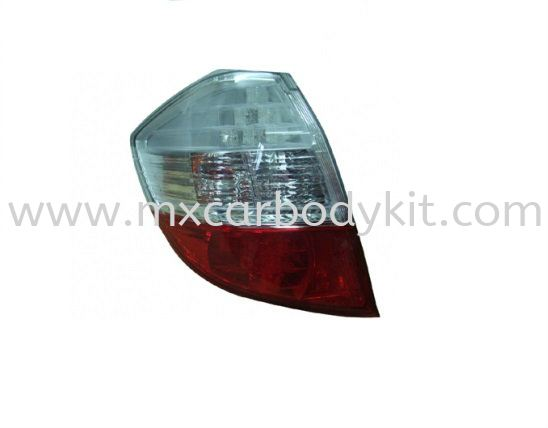HONDA JAZZ FIT 2008 & ABOVE RS TYPE REAR LAMP CRYSTAL LED REAR LAMP ACCESSORIES AND AUTO PARTS