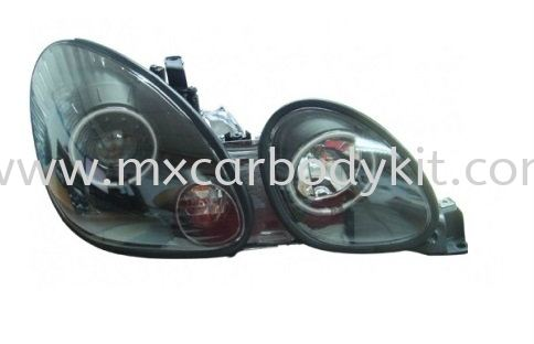 LEXUS GS300 1998-2005 HEAD LAMP CRYSTAL PROJECTOR W/CCFL HEAD LAMP ACCESSORIES AND AUTO PARTS