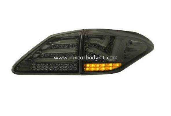 LEXUS RX-AL10 2010 & ABOVE REAR LAMP CRYSTAL LED + LIGHT BAR SMOKE