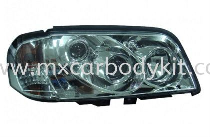MERCEDES BENZ W202 1994-1999 HEAD LAMP CRYSTAL W/PROJECTOR + CORNER LAMP HEAD LAMP ACCESSORIES AND AUTO PARTS