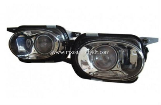 MERCEDES BENZ W203 2000-2006 AMG FRONT BUMPER FOG LIGHT PROJECTOR GLASS LENS